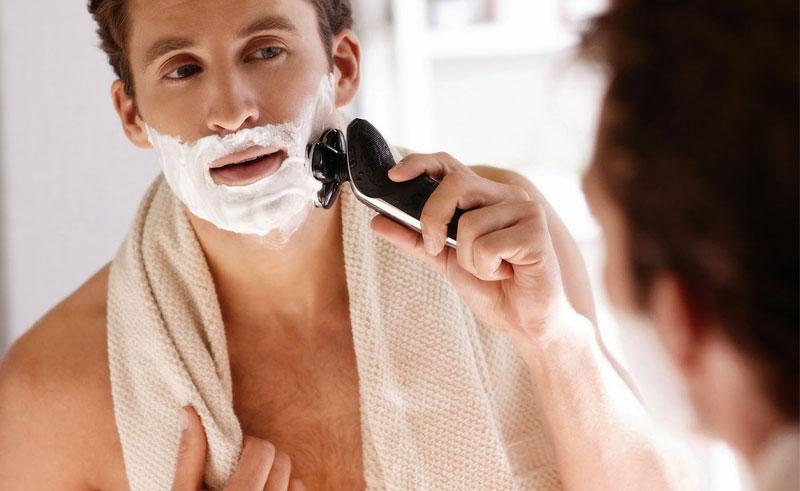 """""""Irritação"""" de barba"""
