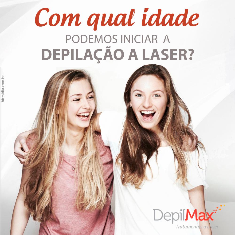 DÚVIDAS: Com qual idade podemos iniciar a depilação a laser?